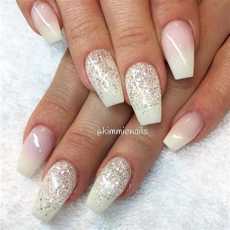 moon shape ombre glitter nail art pinterest 17 best images about naglar on pinterest coffin nails