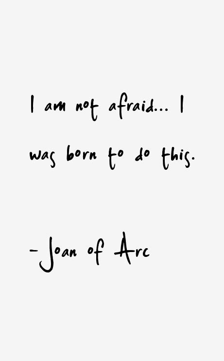 porcelain doll quotes joan of arc quotes sayings
