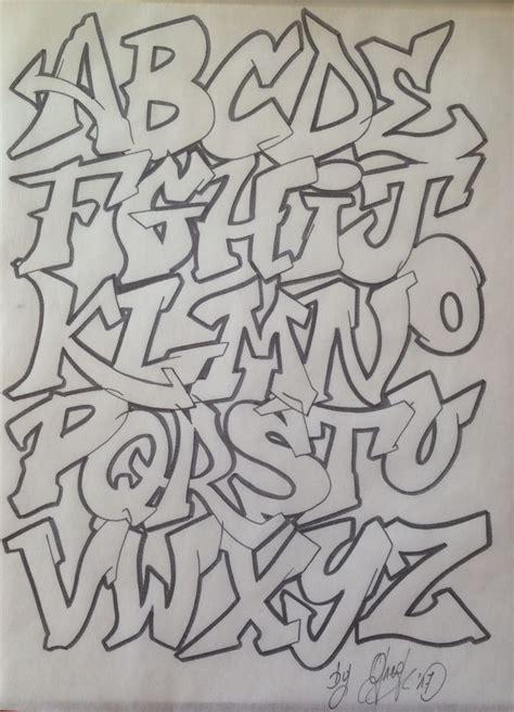 graff graffiti tag street art lettering alphabet