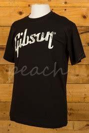 Gibson Usa Logo Black T Shirt gibson usa guitars
