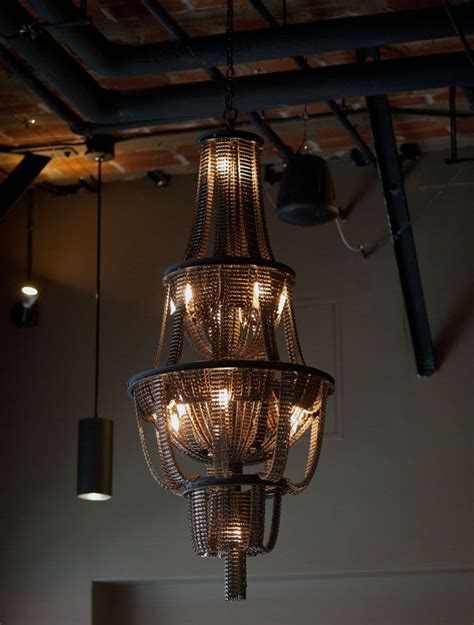 251 Best Upcycled Lighting Obsession Images On Pinterest Recycled Chandelier Ideas