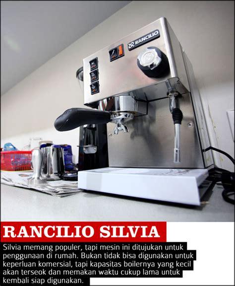 Mesin Kopi Rancilio mesin espresso untuk warung kopi 2 cikopi