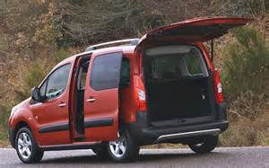 Peugeot Tepee Partner Peugeot Partner Tepee 2013 Practical Access Front Seat