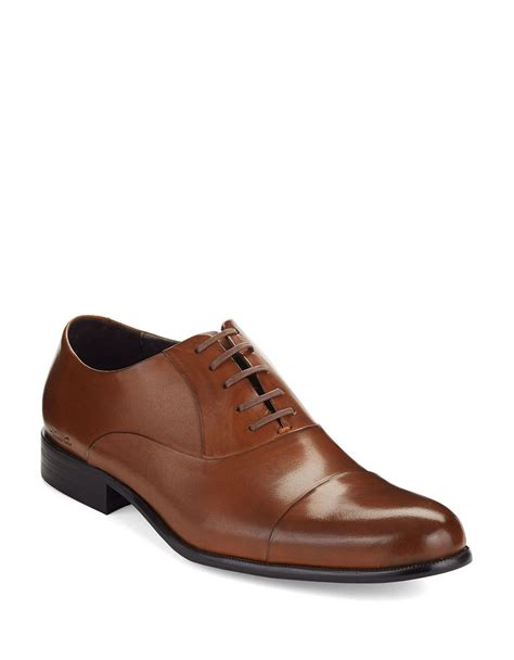 kenneth cole shoes kenneth cole chief council dress shoes in brown for