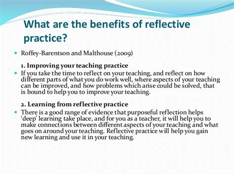 Reflective Practice In Teaching Essay essay on reflective teaching practi