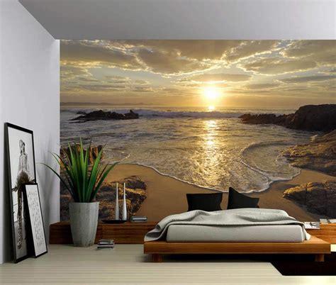 seascape sunrise sea ocean wave sunset beach