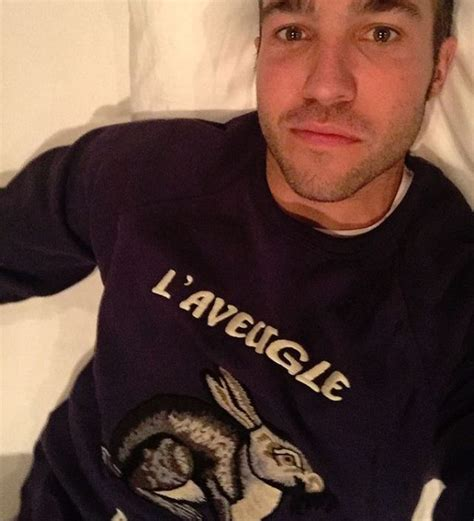 Pete Wentz Gets His Beard On by Pete Wentz Is Blinded By In His Gucci Sweatshirt