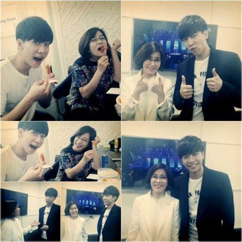 lee seung gi lee sun hee lee seung gi se presentar 225 junto a su mentora lee sun hee