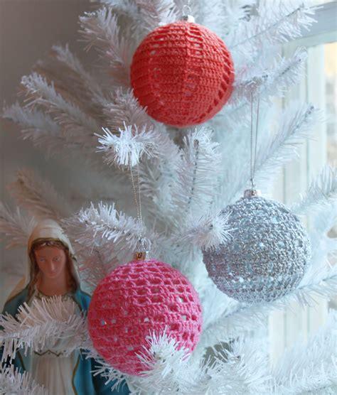 crocheted decorations hello craft
