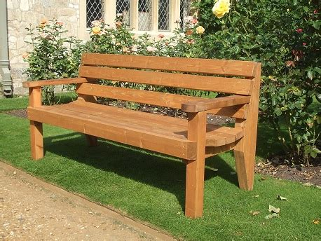 2 seat garden bench garden bench 2 seater with arms e timber products