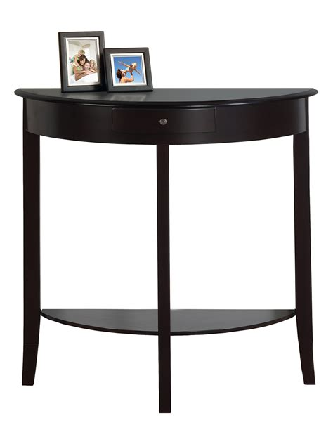monarch hall console table monarch specialties hall console accent table dealtrend