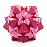 Exquisite Modular Origami - flower 30