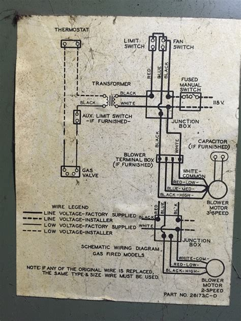 comfortmaker heat thermostat wiring diagrams free