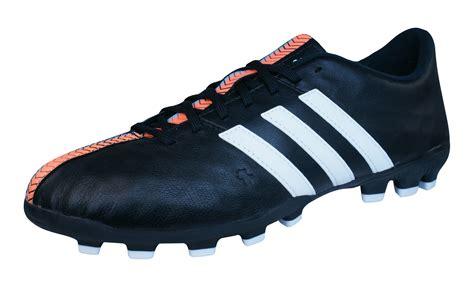 adidas group adidas 11 nova ag mens leather football boots cleats black