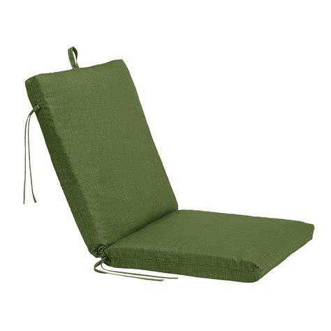 Patio Chair Cushions Kmart Essential Garden Johnston Replacement Seat And Back Cushion Green Outdoor Living Patio