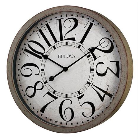 westwood large distressed wall clock c4815