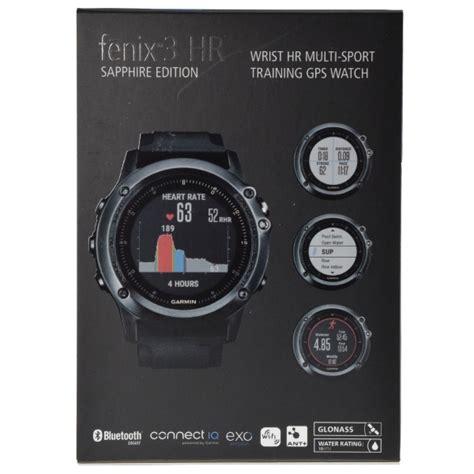 garmin fenix 3 hr sapphire gps sports w wrist based