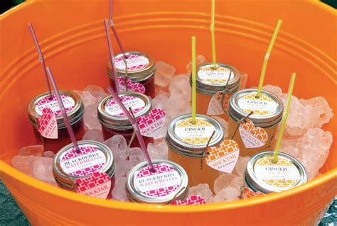 Cocktails For Baby Shower by Mocktail And Cocktail Jar Lemonade Evermine