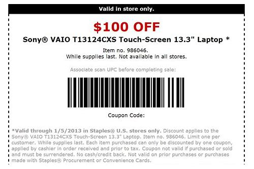 laptops coupon codes
