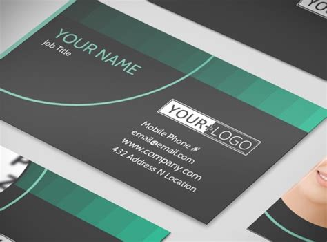 clear business card template clear vision care business card template