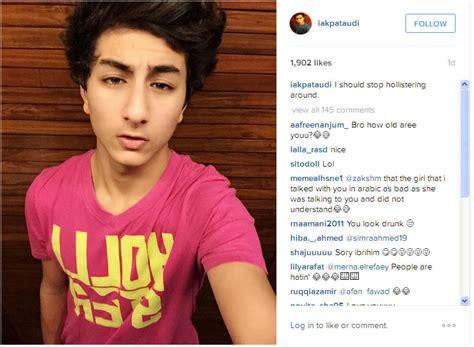 Kaos Selfie pede pake kaos pink selfie ibrahim khan ini tetap ganteng