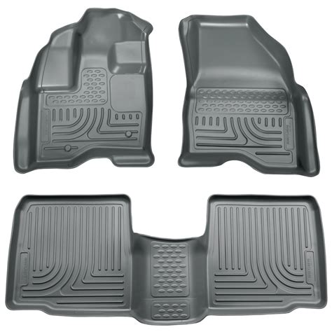 Ford Explorer 2013 Floor Mats 98762 husky weatherbeater front rear floor mats ford