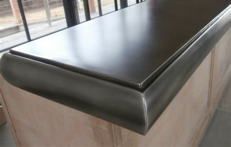 pewter bar tops pewter countertops brooks custom