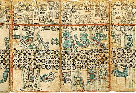 imagenes codices mayas mayan codices