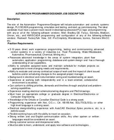 programmer description 12 programmer description sles sle templates