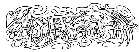 Harley Davidson Tattoos Tribal by Harley Davidson Drawing Step By Step Tattoos Pop