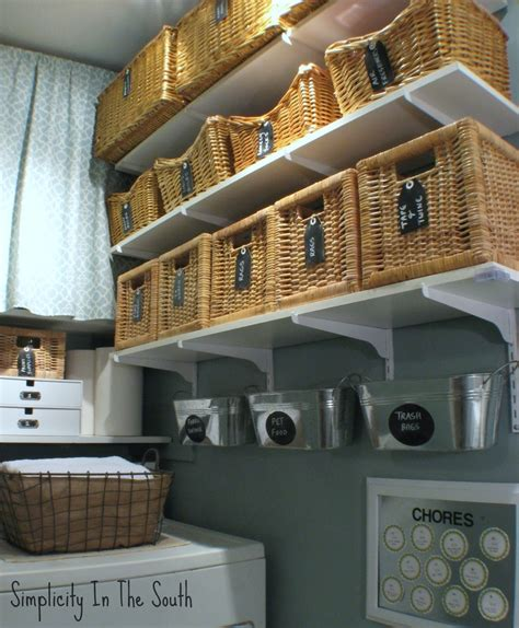 laundry room baskets simplicity in the south laundry room reveal baskets with chalkboard labels organizing