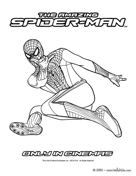 coloring pages amazing spider man amazing spider man coloring pages
