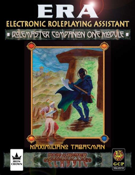 Rolemaster Companion 3 era for rolemaster rmc rolemaster companion i iron crown