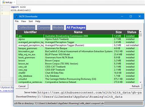 tutorial python urllib nlp tutorial using python nltk simple exles dzone ai