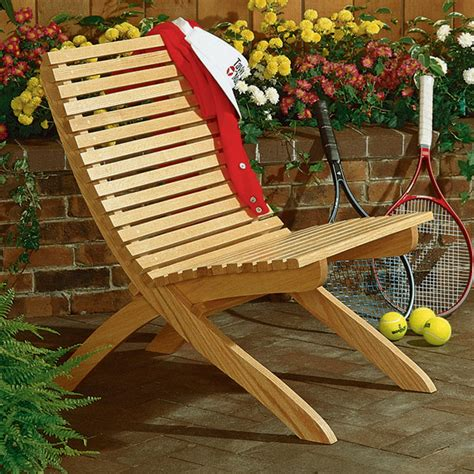 wood patio furniture plans two part chair large format paper woodworking plan from