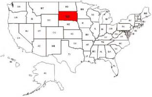 south dakota on us map south dakota maps and data myonlinemaps sd maps state profile and population of south