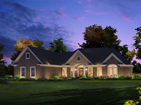 gabriella luxury ranch home plan 121d 0019 house plans