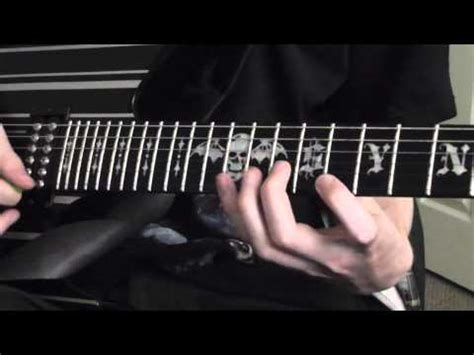 tutorial guitar buried alive avenged sevenfold quot buried alive quot guitar solo lesson