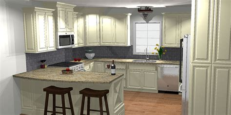 pics for gt u shaped kitchen with peninsula
