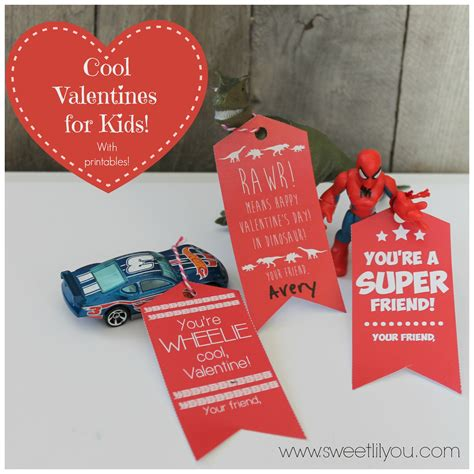 valentines gifts for car cool valentines for boys free printable tags