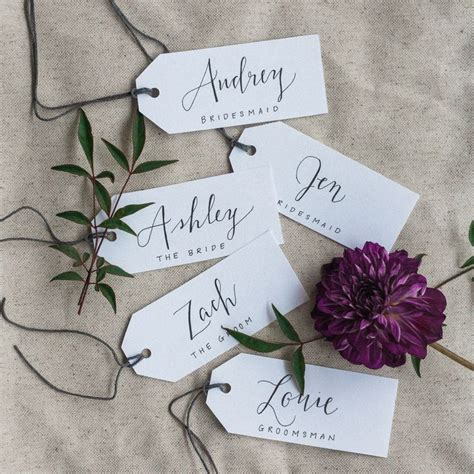 Escort Card Table 1000 Ideas About Wedding Name Tags On Pinterest Wedding