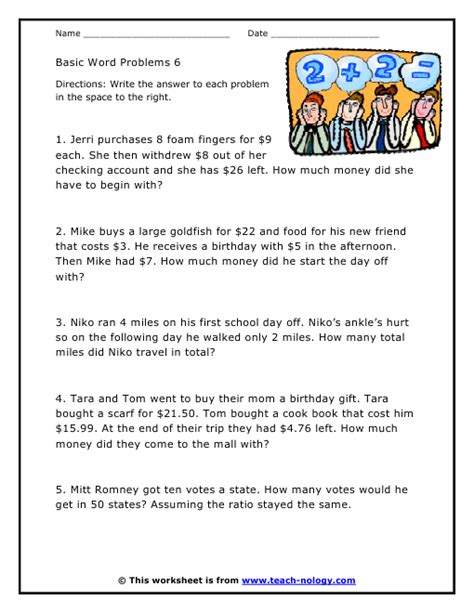 Money Word Problems Worksheets by 28 Word Problems Worksheets With Money Grade 3