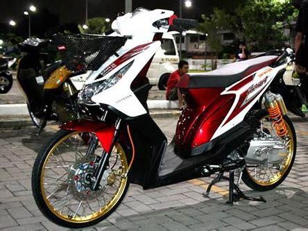 Gambar Modifikasi Motor Honda Beat by 15 Foto Gambar Modifikasi Motor Honda Beat Fi Kumpulan