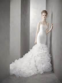 mermaid wedding dresses 2012 vera wang white by vera wang wedding dress style inspired by