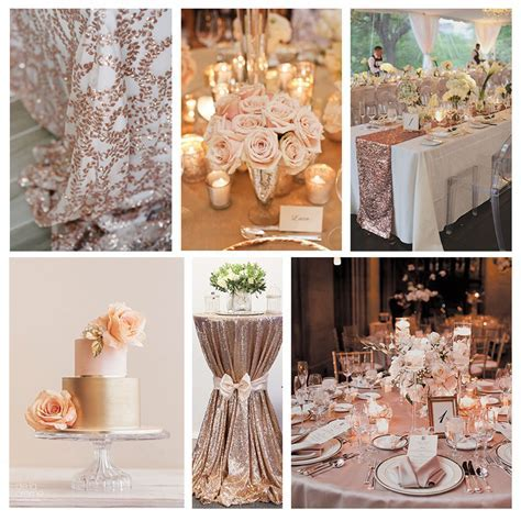 Rose Gold Wedding Inspiration   B&G Blog