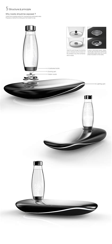 Carbonated water machine _ Whale motive concept design