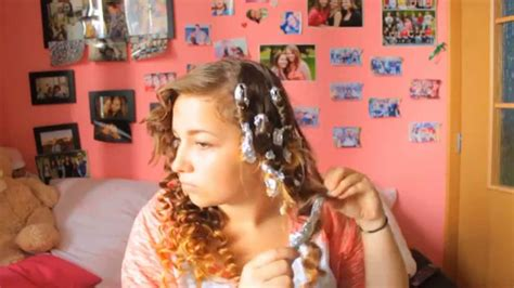 Kitchen Foil Hair How To Make Curls With Kitchen Foil