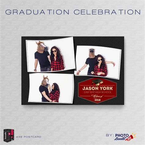 4x6 Graduation Photo Cards Templates by Graduation Celebration For Darkroom Booth Photo Booth Talk