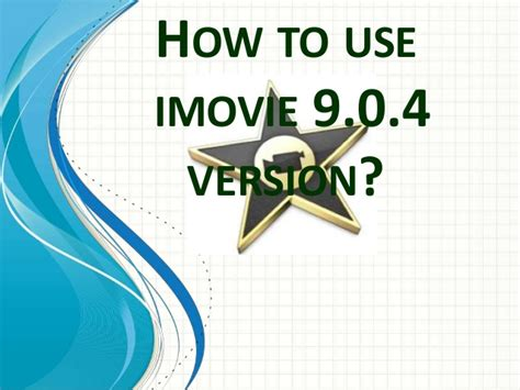 tutorial to use imovie basic tutorial how to use imovie