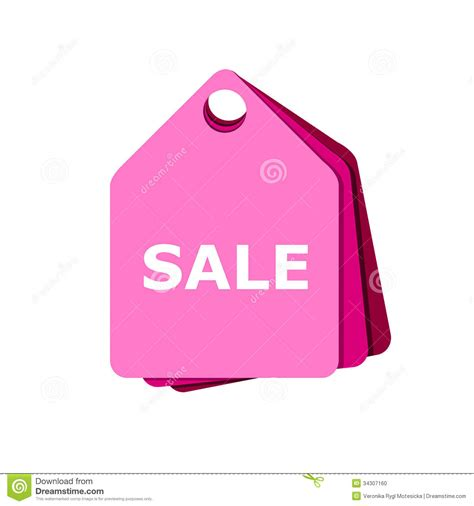 Pink For Sale by Pink Tag Sale Stock Photo Image Of Clothes Pink Sales